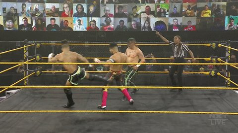 WWE NXT Results: MSK (Wes Lee & Nash Carter) vs. Legado Del Fantasma (Raul Mendoza & Joaquin Wilde) [Dusty Classic Match]