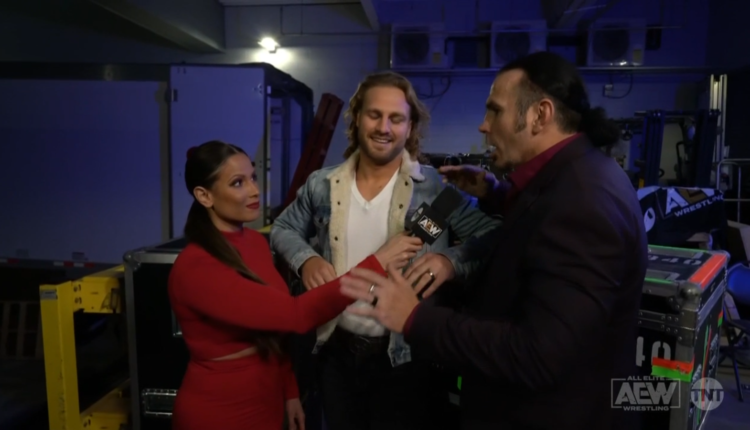 AEW Dynamite Results: Hangman Page Interview