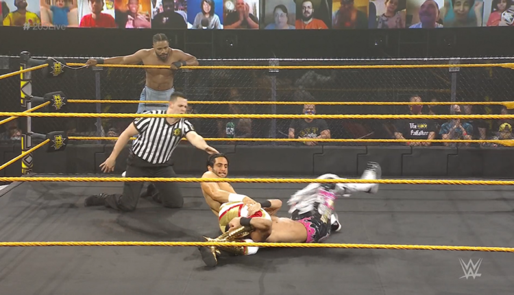 WWE 205 Live Results: BollyRise (Sumir Singh & Chase Parker) vs. Ashante Adonis & Mansoor