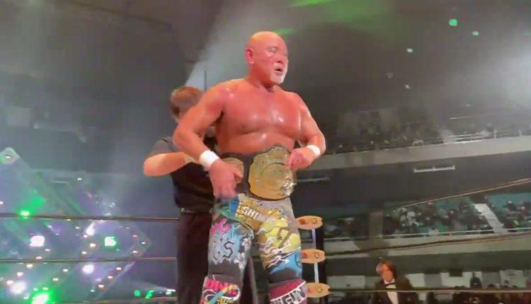 Keiji Mutoh Defeats Go Shiozaki To Win GHC Championship In Pro Wrestling NOAH