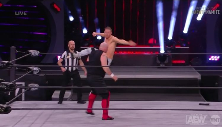 AEW Dynamite Results: Orange Cassidy vs. Luther