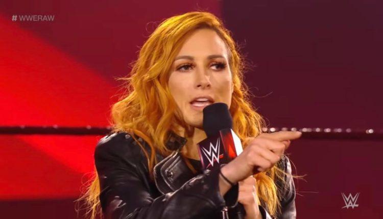 WWE News WrestleMania Becky Lynch