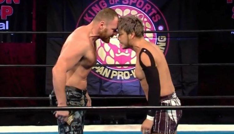 NJPW Strong Results: Jon Moxley vs. KENTA [IWGP United States Championship Match]