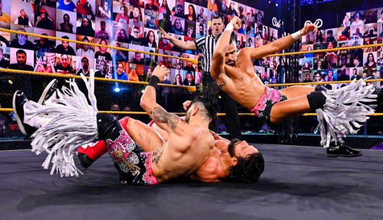 WWE 205 Live Results: Ariya Daivari & Tony Nese vs. The Bollywood Boyz (Samir Singh & Sunil Singh)