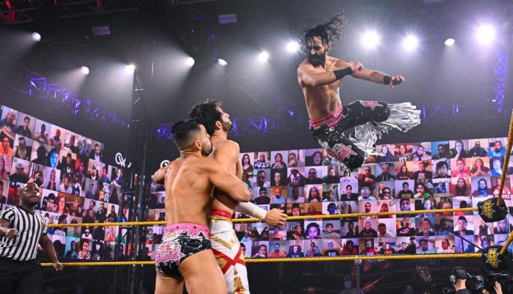 WWE 205 Live Results: Mansoor & Curt Stallion vs. Bollywood Boyz (Sumir & Sunil Singh)