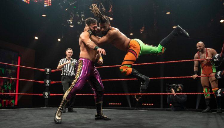 WWE NXT UK Results: Ashton Smith & Oliver Carter vs. Amir Jordan & Kenny Williams