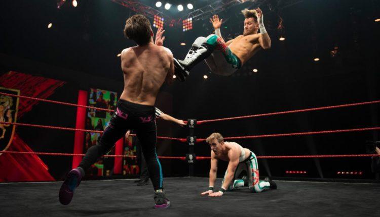 WWE NXT UK Results: Flash Morgan Webster & Mark Andrews vs. Amir Jordan & Kenny Williams