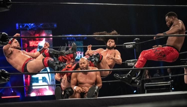 Ring Of Honor Results: The Foundation (Jay Lethal, Jonathan Gresham, Tracy Williams & Rhett Titus) vs. La Facción Ingobernable (RUSH, Dragon Lee, Kenny King & Bestia del Ring)