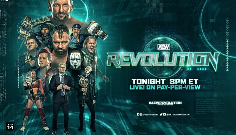 AEW Revolution Preview [Kenny Omega & Jon Moxley In Barbed Wire Match, WCW Legend Sting Returns To The Ring]
