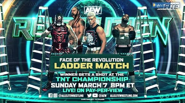 Who Could The Mystery Entrant At AEW Revolution Ladder Match Be?