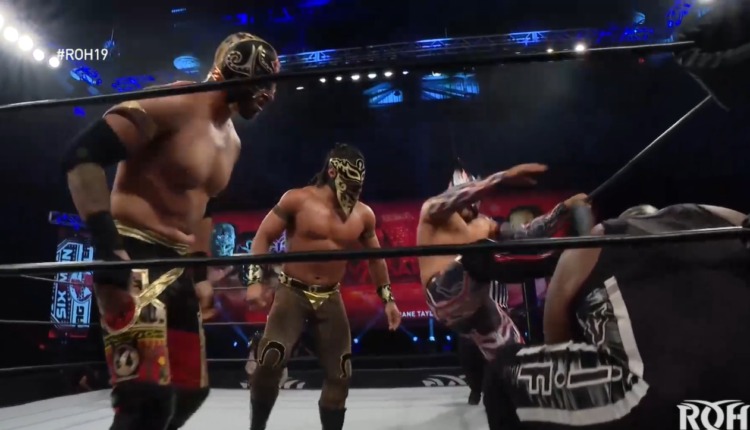 Ring Of Honor 19th Anniversary Results: Mexisquad vs. Shane Taylor Promotions [ROH World Six Man Championship Match]