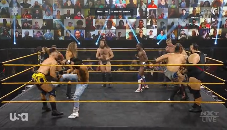WWE NXT Results: Battle Royale For Entry To North American Championship Gauntlet Match