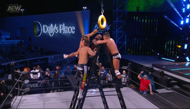 AEW Revolution Results: Cody Rhodes vs. Scorpio Sky vs. Penta El Zero M vs. Max Caster vs. Lance Archer vs. Ethan Page [Face Of The Revolution Ladder Match]
