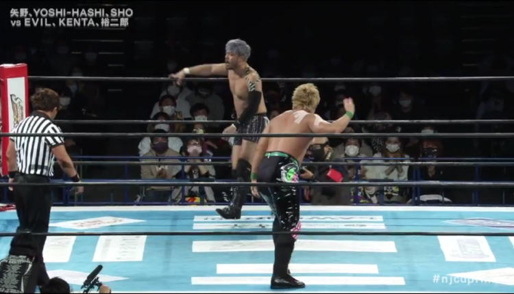 NJPW New Japan Cup Finals: Results & Ratings [YOH Returns After A Year Away, EVIL Leads Bullet Club Against CHAOS In Undercard Action]