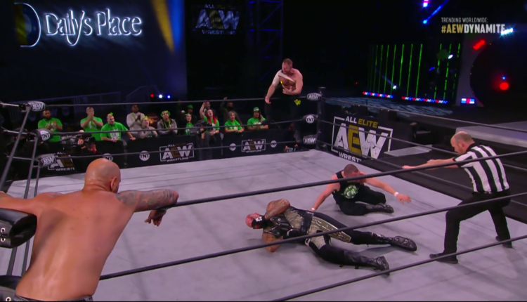 AEW St. Patricks Day Slam Results: Jon Moxley & Eddie Kingston vs. The Good Brothers (Luke Gallows & Karl Anderson)