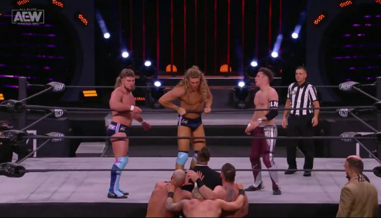 AEW Dynamite Results: FTR & Shawn Spears vs. Varisty Blondes & Dante Martin