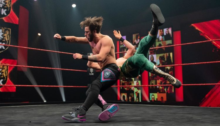 WWE NXT UK Results: Kenny Williams Cheats To Beat Amir Jordan In Grudge Match