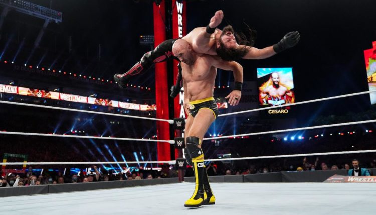 WWE Wrestlemania 37 Night One Results: Cesaro Hits Seth Rollins With Neutralizer For Major Win