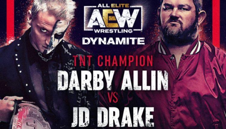 AEW Dynamite Results: Darby Allin vs. JD Drake [TNT Championship Match]