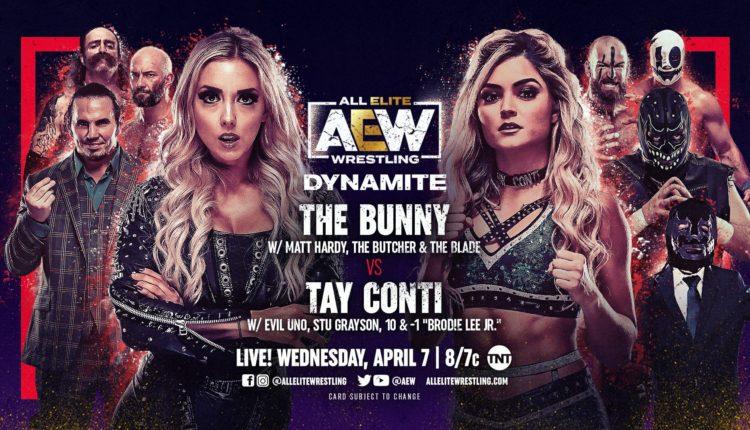 AEW Dynamite Results: Tay Conti vs. The Bunny