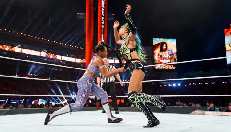WWE Wrestlemania 37 Night One Results: Bianca Belair Defeats Sasha Banks With K.O.D To Win WWE SmackDown Women's Championship In Historic Main Event