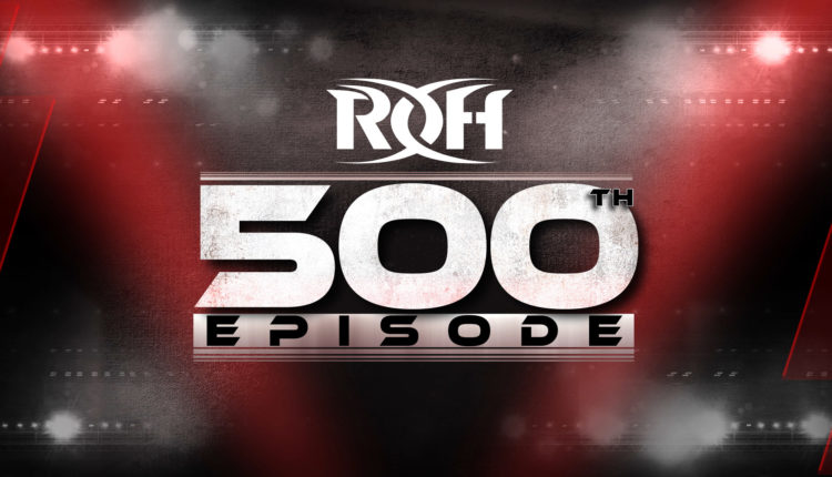Huge Main Event Announced For Ring Of Honor TV Episode #500