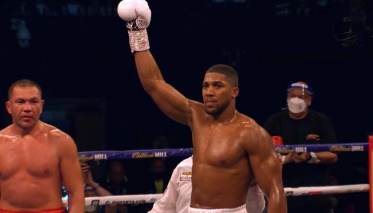 Anthony Joshua Boxing Fury