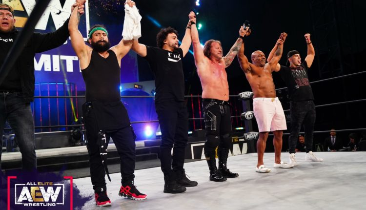AEW Dynamite Results: Chris Jericho Defeats Dax Harwood With Judas Effect