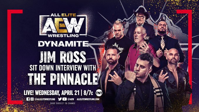 AEW Dynamite Results: The Pinnacle Will Take The Inner Circles Spot By Force
