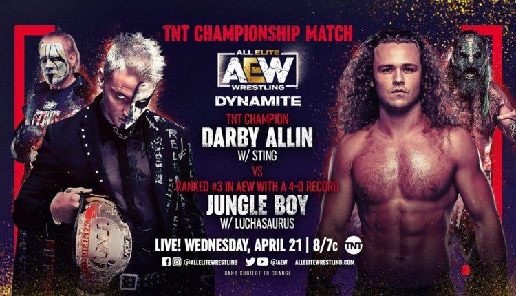 AEW Dynamite Results: Darby Allin vs. Jungle Boy [TNT Championship Match]