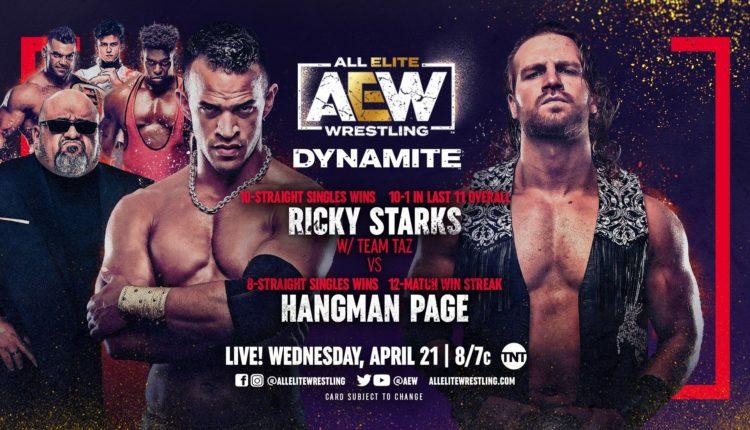AEW Dynamite Results: Ricky Starks vs. Hangman Page