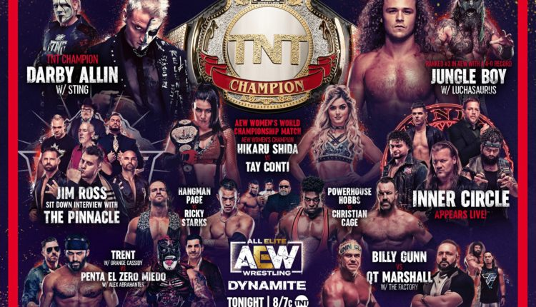 AEW Dynamite Preview For 04-21-2021: Hikaru Shida Defends AEW Women's Championship, Christian Cage Takes On Powerhouse Hobbs and MORE!