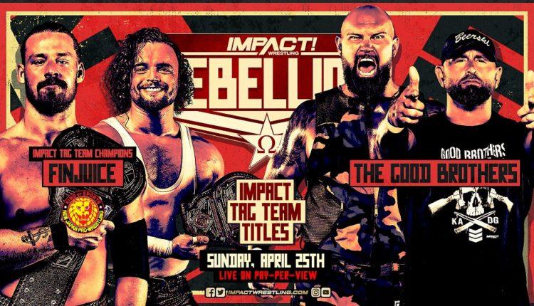 Impact Wrestling Rebellion Results