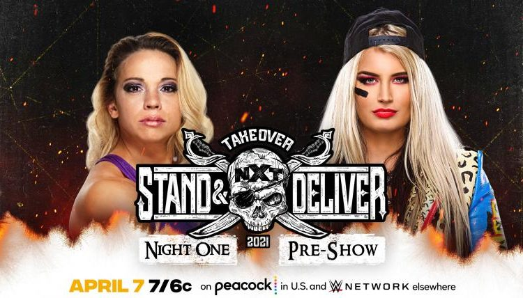 WWE NXT Takeover Stand & Deliver Results: Toni Storm vs. Zoey Stark