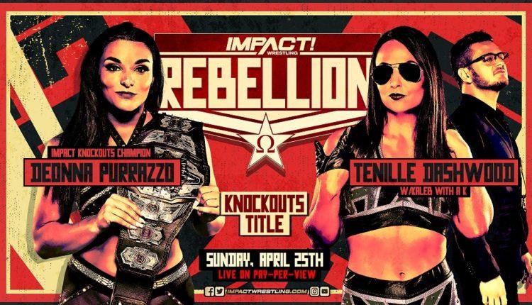 Impact Wrestling Rebellion Preview