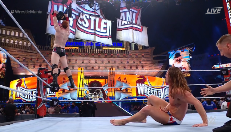 WWE Wrestlemania 37 Night Two Results: Sheamus Defeats Riddle Via The Brogue Kick To Claim Third WWE United States Championship