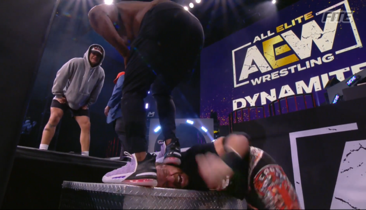 AEW Dynamite Results: Christian Cage Gets Mauled By Team Taz