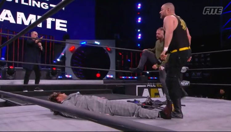 AEW Dynamite Results: Eddie Kington & Jon Moxley Get A Match With Kenny Omega
