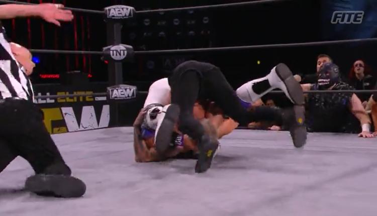AEW Dynamite Results: Darby Allin Counters Preston Vance's Full Nelson To Retain TNT Championship