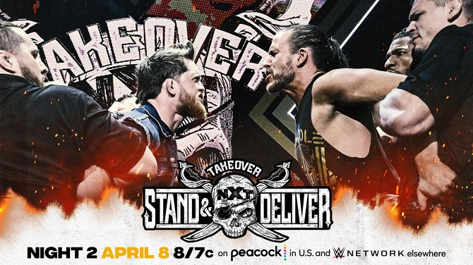 WWE NXT Takeover: Stand & Deliver Night Two Preview [Finn Balor vs. Karrion Kross, Kyle O'Reilly vs. Adam Cole]