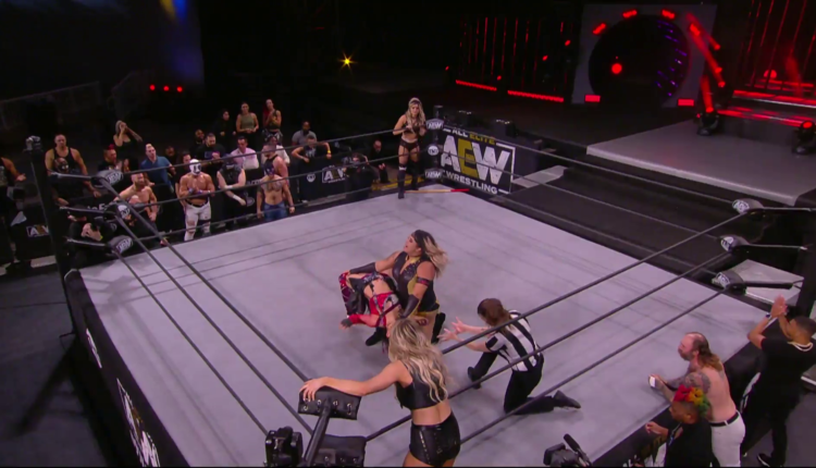 AEW Dynamite Results: Hikaru Shida & Tay Conti vs. The Bunny & Nyla Rose