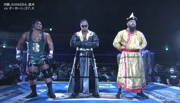 NJPW Sakura Genesis 2021 Results & Ratings [The United Empire Debut New Member In Undercard Action]