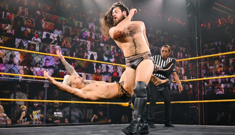 WWE NXT Results: Cameron Grimes Squashes Asher Hale With The Cave-In
