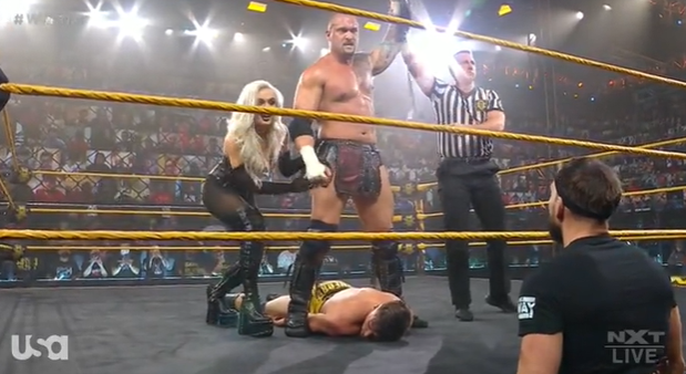 WWE NXT Results: Karrion Kross Demolishes Austin Theory, Finn Balor Wants His Rematch