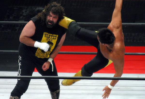 Mick Foley Speaks On His Triple Crown Heavyweight Championship Match With Toshiaki Kawada, Replacing Goldberg