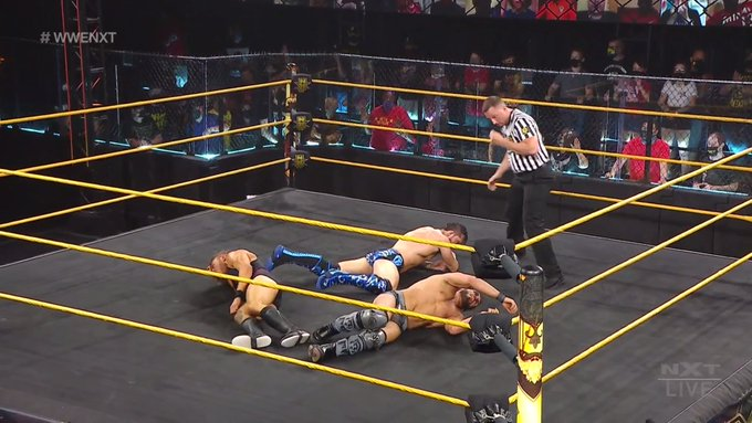 WWE NXT Results: Kyle O'Reilly vs. Johnny Gargano vs. Pete Dunne