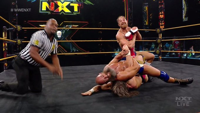 WWE NXT Results: Tomasso Ciampa & Timothy Thatcher Defeat Grizzled Young Veterans In Chaotic Tornado Tag Team Match (06/15)