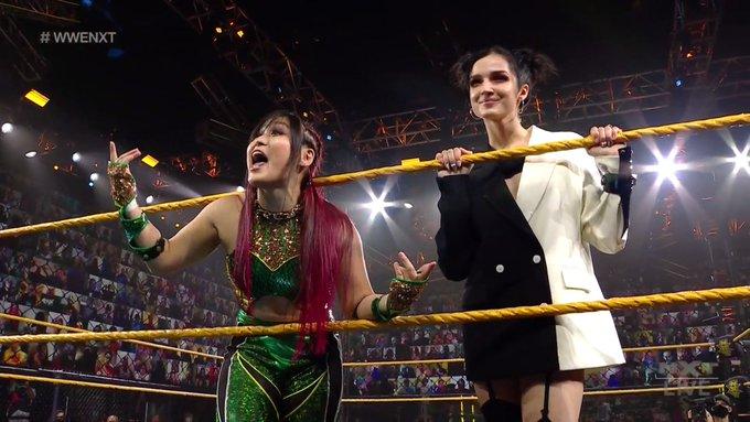 WWE NXT Results: Poppy Brings Io Shirai Back To NXT, Dakota Kai vs. Ember Moon Ends In A DQ