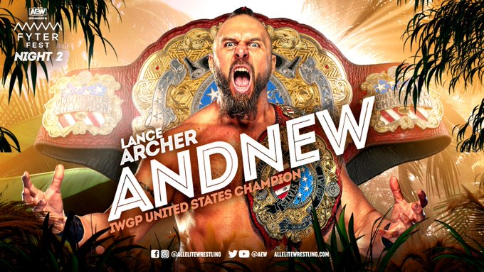 AEW Fyter Fest Results: Jon Moxley vs. Lance Archer - Texas Death Match IWGP United States Championship (07/21)