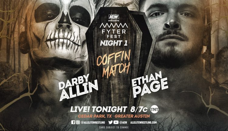 AEW Fyter Fest Results: Darby Allin Defeats Ethan Page In Brutal Coffin Match (07/14)
